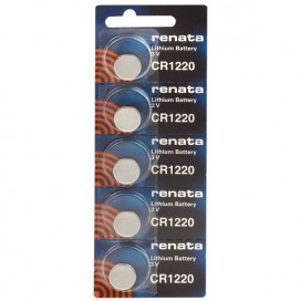 Lithium-based battery Renata CR 1220 3V - Blister of 1