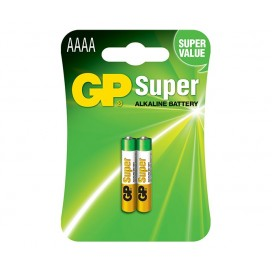 Bateria GP AAAA E96 LR61 - blister 2 szt. / pudełko 20 szt.