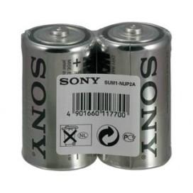 Bateria alkaliczna Sony R14 BASE - folia 2 szt.