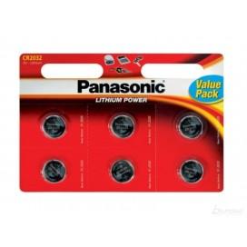 Bateria litowa Panasonic CR2032 3V - Blister 6 szt.