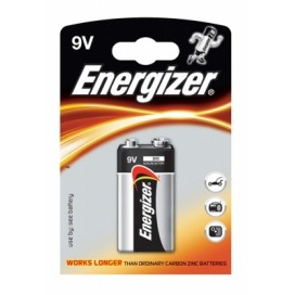 Energizer 9V 6LR61 Battery - blister of 1
