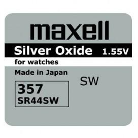 Bateria Maxell SR 44 SW /357/303/ - pudełko 10szt