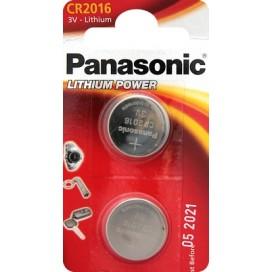 Bateria litowa Panasonic CR 2016 3V- blister 2 szt.