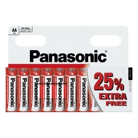 Panasonic alkaline battery LR-6 AA Bronze - blister packs of 4
