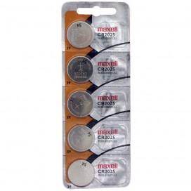 Bateria Maxell CR2025 HOLOGRAM - blister 5szt