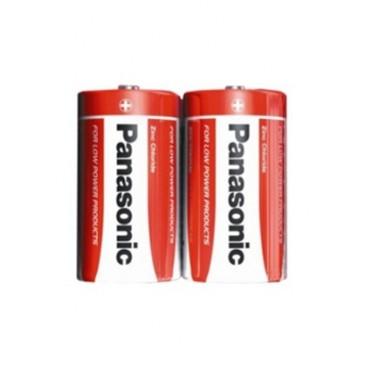 Alkaline Battery Panasonic R-20 - blister packed of 2