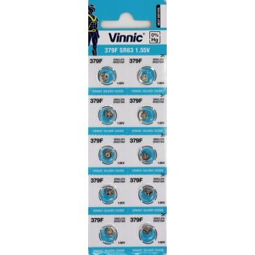 Alkaline Vinnic G 0 /L521/ Battery - Blister pack of 10