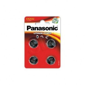 Lithium Panasonic CR 1632 3V battery - Blister packs of 5