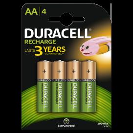 Akumulator Duracell AA 1300 mAh - blister 4 szt. / pudełko 40 szt.