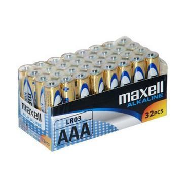 Bateria Maxell LR-6 AA folia-32szt
