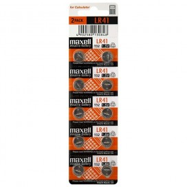 Bateria Maxell LR41 - blister 10szt DATA 09/2019