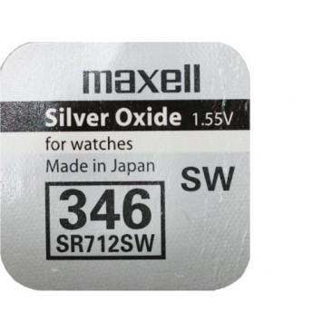 Bateria srebrowa Renata SR712SW / 346 - opakowanie 10 szt.