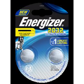 Energizer CR2032 battery - blister of 1