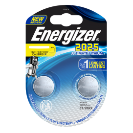 Bateria Energizer CR2025 ULTIMATE - blister 2szt