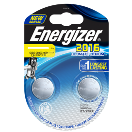 Bateria Energizer CR2016 ULTIMATE - blister 2szt
