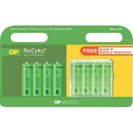 Akumulator GP Recyko+ 2600 8szt
