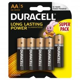 Bateria alkaliczna Duracell LR6 - blister 5 szt.