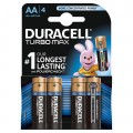 Bateria alkaliczna Duracell LR6 TURBO - blister 4 szt