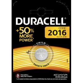 Bateria litowa Duracell CR 2016 3V- blister 1 szt.