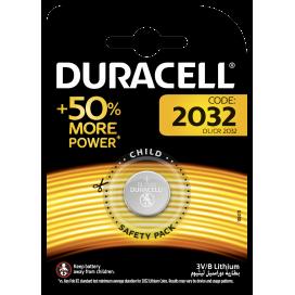 Duracell lithium battery CR 2032 3V- blister of 1