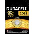 Bateria litowa Duracell CR2032 3V - blister 1 szt. / pudełko 10 szt.