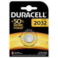 Duracell lithium battery CR 2032 3V- blister of 1