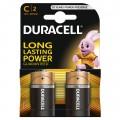 Duracell alkaline battery LR-14 SIMPLY - Blister of 2