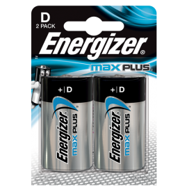 Bateria Energizer LR20 Max Plus - blister 2szt