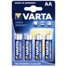 Varta alkaline battery LR6 High Energy - blister of 4.
