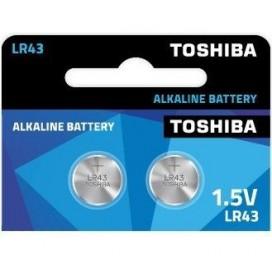 Bateria Toshiba LR43- blister 10szt