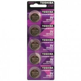 Bateria litowa Toshiba CR 1632 3V- blister 5 szt.
