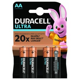 Bateria Duracell LR6 ULTRA - blister 4 szt. / pudełko 40 szt.