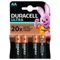 Bateria Duracell LR6 ULTRA - blister 4 szt
