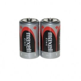 MAXELL BATTERY R-14 SHRINK WRAP of 2