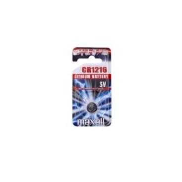 Bateria Maxell CR1216 - blister 5szt