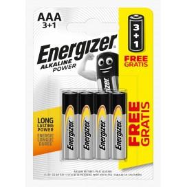 Bateria Energizer LR3 - blister 3+1szt