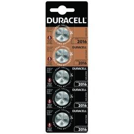 Bateria litowa Duracell CR2016 3V - blister 5 szt. / pudełko 20 szt.