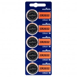 Lithium-based battery Maxell CR 1216 3V - Blister pack of 5