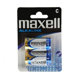 Maxell battery LR-14  blister-2 items