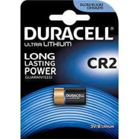 Duracell lithium battery CR 2 3V - blister 2 items