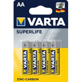 Bateria cynkowa Varta R6 SUPERLIFE - blister  4 szt
