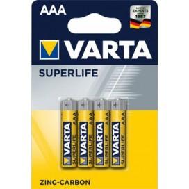 Bateria cynkowa Varta R3 SUPERLIFE - blister  4 szt