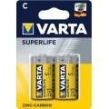 Bateria cynkowa Varta R14 SUPERLIFE - blister 2 szt