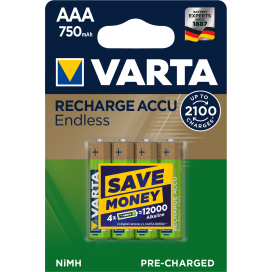 Varta rechargeable battery HR6 2400 mAh ready 2 use - blister of 4