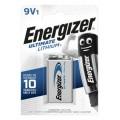 Bateria Energizer 9V 6LR61 L522 litowa ULTIMATE - blister 1szt